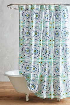 Shop The Tegula Shower Curtain And More Anthropologie At Today Read Customer Reviews