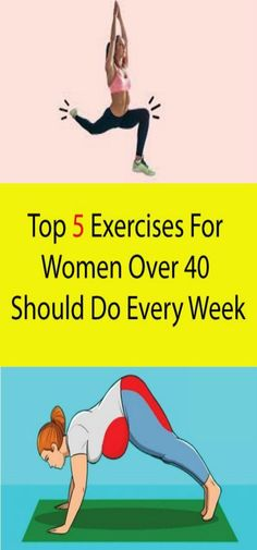 Easy Exercises That Women Over 40 Should Do Every Week . Another great exercise that focuses on your leg muscles but it's not high intensity and doesn'tTop 5 Exercises For Women Over 40 Should Do Every Week Hiit Workout At Home, Hip Workout, Tummy Workout, Workout Fitness, Fitness Goals, Fitness Tips, Fitness Motivation, Fitness Planner, Health Fitness