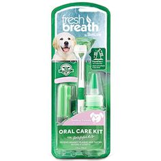Tropiclean Fresh Breath Puppy Oral Care Kit, 2 oz. -- Learn more by visiting the image link. (This is an affiliate link) #Dogs