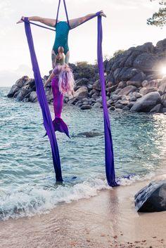 Mermaid/Beach Aerial Shoot