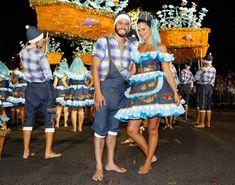 Cláudia Vieira e Pedro Teixeira divertem-se nas Marchas Populares - Caras