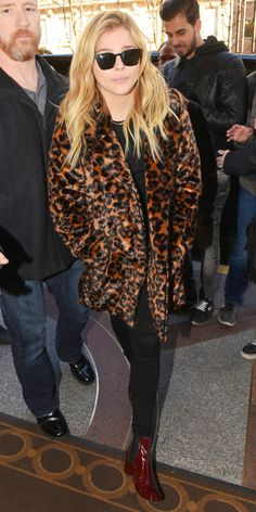 Look of the Day - Chloe Grace Moretz  - from InStyle.com