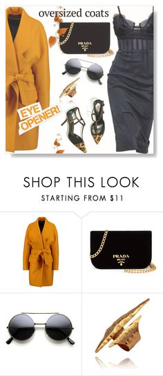 """The Future Is Bright..."" by desert-belle ❤ liked on Polyvore featuring Balmain, Oscar de la Renta and Prada"