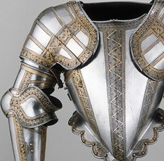 Learn more about this object.  Arms and armor collection of Art Institute of Chicago includes dog armor and equine armor.