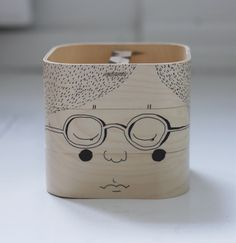 Draw on boxes from Ikea. A idea that will go over big. Create a box to keep your drawing and other art supplies in.