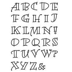 Hand Lettering Alphabet, Doodle Lettering, Creative Lettering, Lettering Styles, Calligraphy Letters, Brush Lettering, Journal Fonts, Bullet Journal Writing, Bullet Journal Ideas Pages