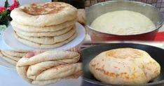 Atât de moale și aerată, încât nu-i poți rezista! Pâine turcească la tigaie - Floare de tei Toasted Ravioli, Pizza Cake, Food Tags, Healthy Grilling, Breakfast Smoothies, Kefir, Baking Recipes, Good Food, Food And Drink