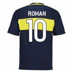 Boca Junior 16-17 Season Home #10 Roman Soccer Jersey [G792]