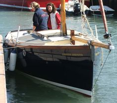 Babcary Boatyard - Specialists in Cornish Shrimpers Fast Boats, Cool Boats, Small Boats, Spirit Yachts, Sailboat Cruises, Small Sailboats, Wooden Boat Building, Classic Yachts, Yacht Interior
