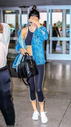 14 Outfits de Kendall Jenner que te motivarán a ir al gym