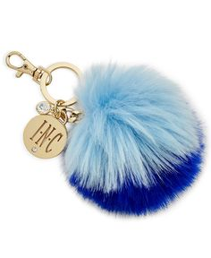 Iris Gifts For Inc International Concepts Faux-Fur Pom Pom Key Chain, Only at Macy's