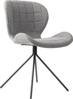 Zuiver Stuhl Esszimmerstuhl OMG hellgrau – Möbel – Arbeiten – Bürostühle – Freudenhaus Designkaufhaus