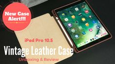 New Case Alert! Bueno Vintage Leather Case for the iPad Pro 10.5  Here is Tech Daddy's Review of the Bueno Vintage Leather Case for the iPad Pro 10.5-inch model.    Check out our Blog Post for more details about this Leather case!