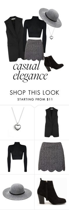 """Casual Elegance"" by julie-naldahl-lyse ❤ liked on Polyvore featuring Pandora, STELLA McCARTNEY, WearAll, Topshop, Ashley Stewart and Nly Shoes"