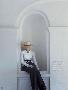 nice Elle Suécia Setembro 2013 | Franzi Mueller por Julia Hetta   [Editorial]