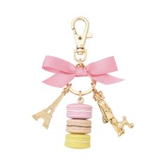 KEYCHAIN PARISIENNE LEMON