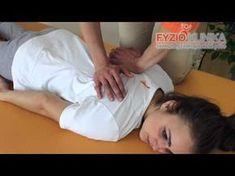 Mobilizace žeber při blokádě žeber a bolesti na hrudníku - YouTube Massage Therapy, Life Hacks, Youtube, Exercises, Diet, Anatomy, Massage, Youtubers, Lifehacks