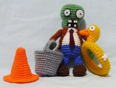 Crocheted Video Game Characters - These Critters are Great for Those Excited by the New Plants vs. Z (GALLERY)