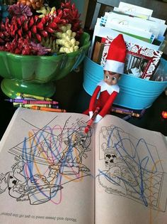 LOTS of Elf on the Shelf Ideas 36