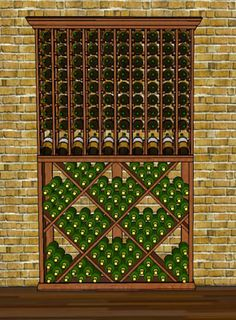 We offer cellar combos on WineRacks.com that can fit in a space without the need for a design.