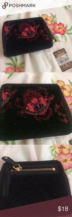 Juicy Couture wallet NWT Cute wallet. Measures 5 inches across and 4 inches high. Juicy Couture Bags Wallets