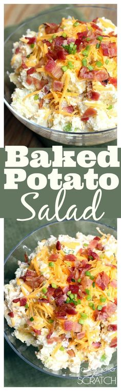 Baked Potato Salad from TastesBetterFromScratch.com