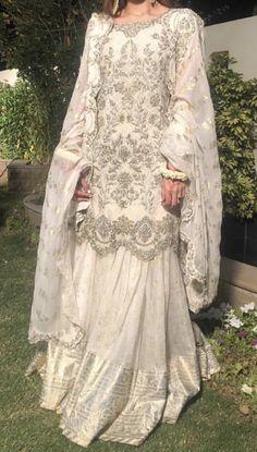 Milaad/ dua e Khair dress inspo for brides Asian Wedding Dress Pakistani, Asian Bridal Dresses, Pakistani Formal Dresses, Indian Gowns Dresses, Indian Fashion Dresses, Pakistani Wedding Dresses, Pakistani Dress Design, Indian Wedding Outfits, Indian Designer Outfits