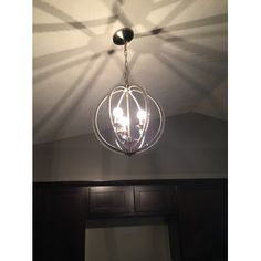 220V 20*20CM 5-10㎡Contracted And Contemporary Chandelier Creative ...