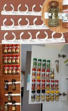 20 Best Food Storage Ideas for Your Pantry Maximize your storage area with a Gliding Drawer Refrigerator and also wooden shelves. Huge enough to save food items yet little enough not to occupy beneficial room. Kitchen Pantry Cabinets, Diy Kitchen Storage, Cupboard Storage, Storage Shelves, Storage Spaces, Storage Area, Food Storage, Inside Cabinets, Pantry Room