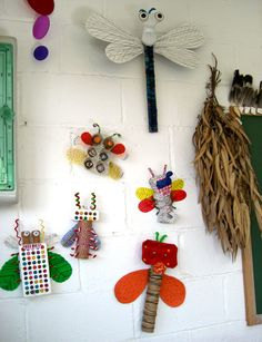 recycled insects