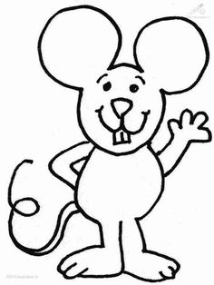 Coloring Page - Mouse animal coloring pages 20 | for kaylee ...