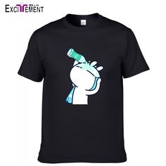 Women Men Couple Japanese Anime Tshirt Tuzki Print T Shirt  Funny O Neck Short Sleeve Cotton Cartton T shirt Men's Clothes-in T-Shirts from Men's Clothing & Accessories on Aliexpress.com | Alibaba Group