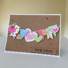 Project Ideas for Doodlebug Design - Cream and Sugar Collection - Odds and Ends - Die Cut Cardstock Pieces Creative Birthday Cards, Homemade Birthday Cards, Happy Birthday Cards, Creative Cards, Homemade Cards, Paper Cards, Diy Cards, Handmade Greeting Card Designs, Tarjetas Diy