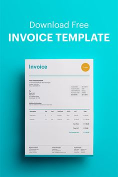 Create your own invoice with our free invoice template for Excel, Word or PDF. Microsoft Word Invoice Template, Create Invoice, Microsoft Excel, Invoice Maker, Invoice Example, Thank You Messages, Presentation Layout, Global Economy, Company Names