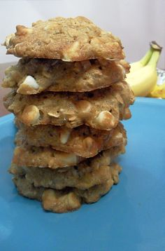 Cooking to Perfection: Skinny Banana Oatmeal Cookies