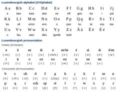 luxembourgish - Google Search Sentence Structure, Languages, Helping People, Sentences, Vocabulary, Alphabet, German, Google Search, Learning