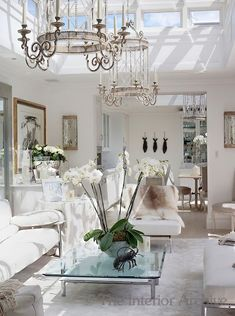 Alison Henry Design-Charisma design: Paned Glass Ceiling for Sunroom/Conservatory