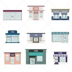 Flat 3D Stores