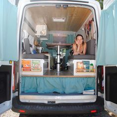 Join the Van Life Movement with your own custom camper van. Custom Camper Vans, Custom Vans, Diy Camper, Cool Campers, Rv Campers, Van Camping, Camping Hacks, Campervan Hacks, Van Conversion Build
