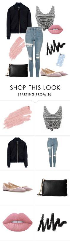 """Bez tytułu #135"" by maryb96 on Polyvore featuring moda, Jane Iredale, McQ by Alexander McQueen, Topshop, Valentino, Michael Kors, Lime Crime i Casetify"