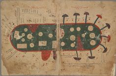 Map of the Indian Ocean from 11th century Arabic manuscript The Book of Curiosities of the Sciences and Marvels for the Eyes (Bodleian Library)