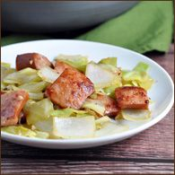 Kielbasa and Cabbage Skillet — Very Culinary
