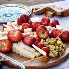 cute and delicious picnic at Sandbanks Provincial Park, Ontario Picnic Ideas, Cheese, Board, Summer, Summer Time, Sign, Verano
