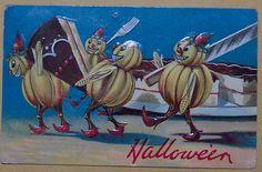 Halloween Postcard  -----Valentine & sons Publishing by riptheskull, via Flickr