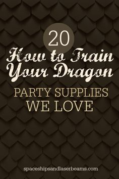 How to Train Your Dragon Birthday Party Supplies - Spaceships and Laser Beams Dragon Birthday Parties, Dragon Party, Birthday Party Themes, Birthday Ideas, Karate Birthday, Boy Birthday, Birthday Stuff, Motto, Dragons