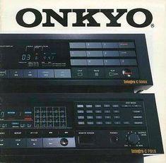 Digital Audio ONKYO Integra CD Digital Audio, Old Ads, Brochures, Retro, Radios, Phone, Big, Sports, Vintage