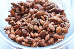 Cinnamon Sugar Candied Nuts -  easy to make, and it's the perfect budget-friendly gift for family and friends!