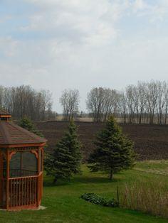 Spring Field Work | A Homespun Country Life; blog post, Wisconsin farm life