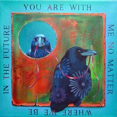 """Original Oil Painting """"You Are With Me"""""""