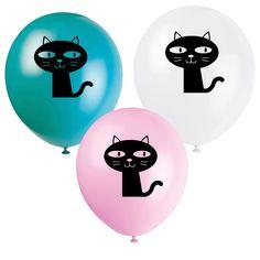 Do prostoru oslavy zavěste balónky!!!